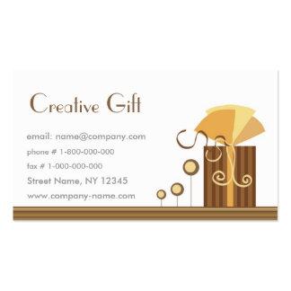 Plantilla creativa de la tarjeta de visita de la