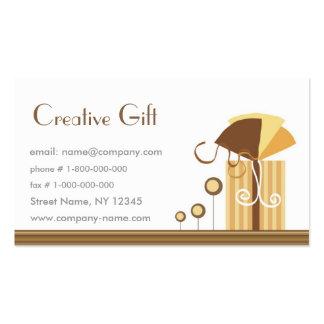 Plantilla creativa de la tarjeta de visita de la t