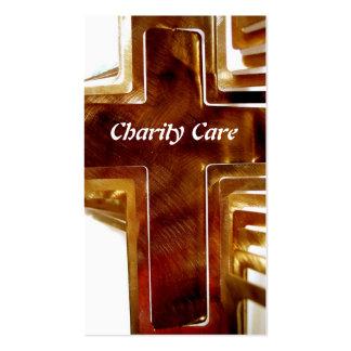 Plantilla cristiana de la tarjeta de visita