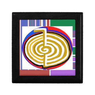 PLANTILLA curativa del símbolo del rei CHOKUREI Caja De Recuerdo