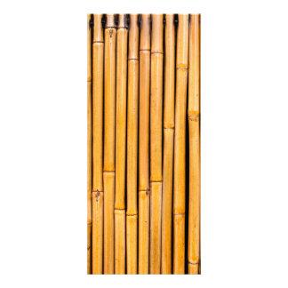 Plantilla de bambú hawaiana tropical del fondo comunicados personales