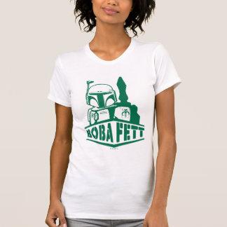 Plantilla de Boba Fett Camisetas