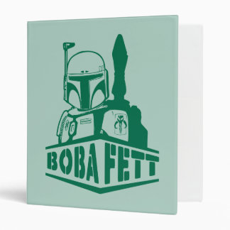 Plantilla de Boba Fett Carpeta 2,5 Cm