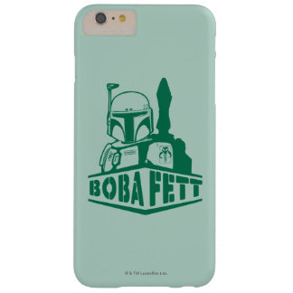 Plantilla de Boba Fett Funda Barely There iPhone 6 Plus