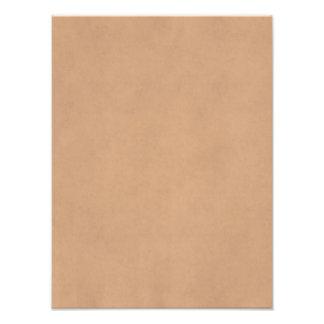 Plantilla de cuero del papel de pergamino de Brown Arte Fotográfico