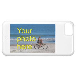 Plantilla de encargo custom la foto personalizada funda para iPhone 5C