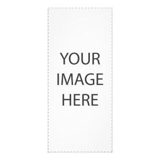 Plantilla de encargo de la imagen diseño de tarjeta publicitaria
