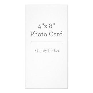 Plantilla de encargo de la tarjeta de la foto