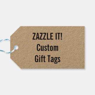 Plantilla de encargo del espacio en blanco de la etiquetas para regalos