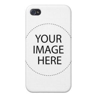 Plantilla de la caja de la mota iPhone 4 cárcasa