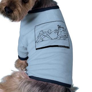 Plantilla de la camisa del perro ropa perro