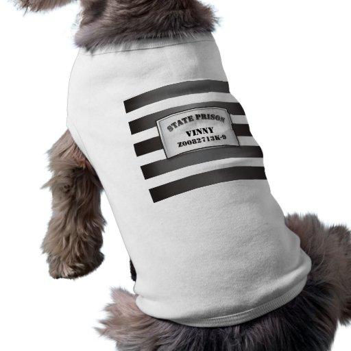 Plantilla de la camiseta de la camiseta del perro  ropa para mascota
