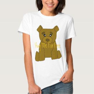 Plantilla de la camiseta de las mujeres del oso de