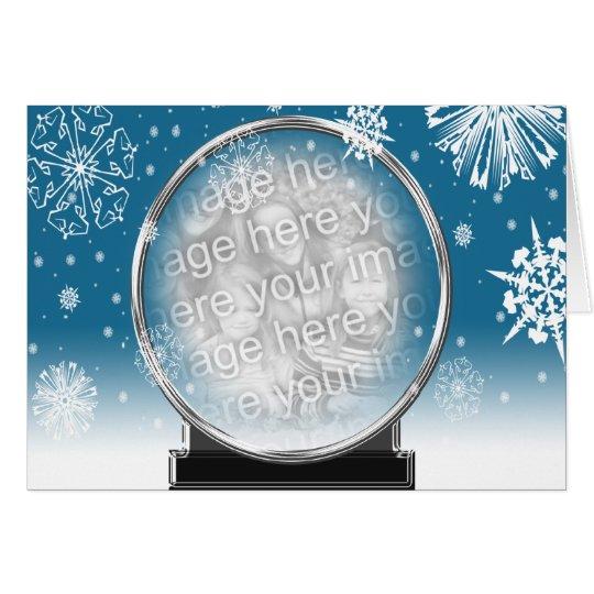 Plantilla de la foto del día de fiesta de Navidad Tarjeta De Felicitación