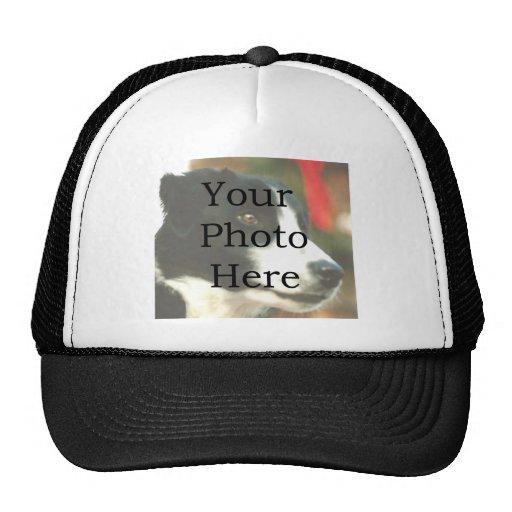 Plantilla de la foto gorra