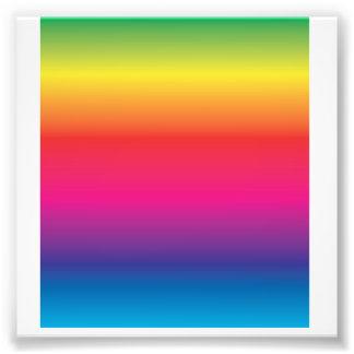 Plantilla de la imagen del arco iris arte con fotos