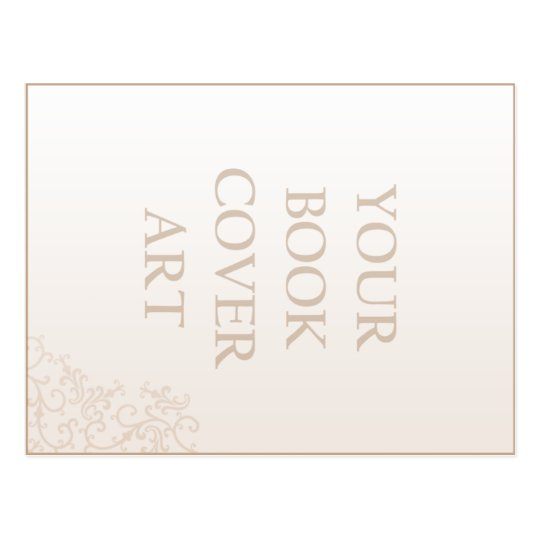 Plantilla de la postal de la promoción del libro