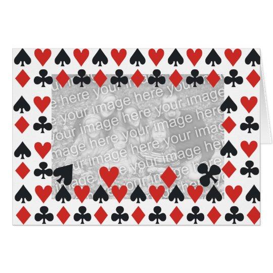 Plantilla de la tarjeta de juego