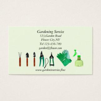 Plantilla de la tarjeta de la empresa de servicios