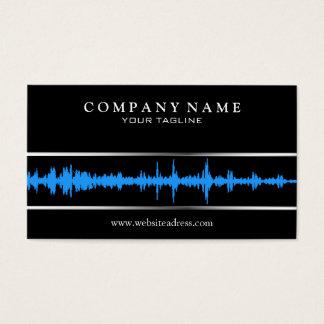 Plantilla de la tarjeta de visita de DJ/Music