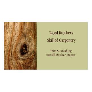 Plantilla de la tarjeta de visita de la artesanía