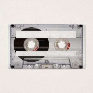 Plantilla de la tarjeta de visita de la cinta de