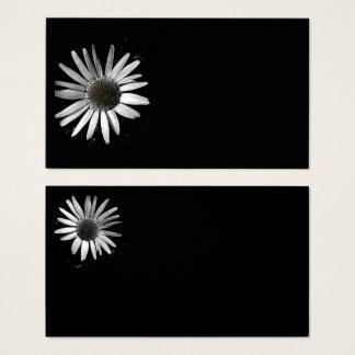 plantilla de la tarjeta de visita de la flor