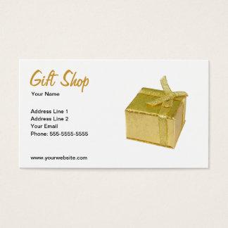Plantilla de la tarjeta de visita de la tienda de