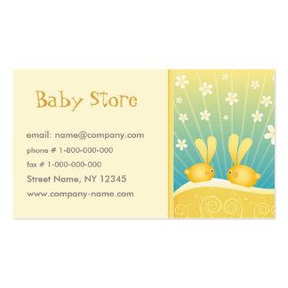 Plantilla de la tarjeta de visita de la tienda del