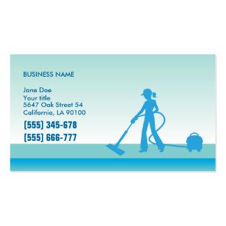 Plantilla de la tarjeta de visita de los profesion