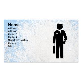 Plantilla de la tarjeta de visita del asistente de