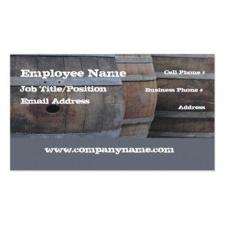 Plantilla de la tarjeta de visita del bar de vinos