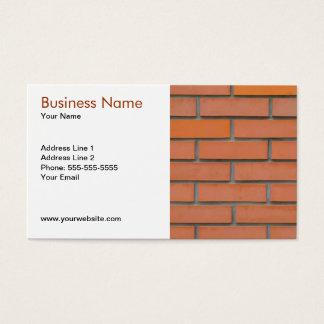 Plantilla de la tarjeta de visita del sector de la
