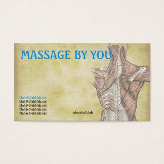Plantilla de la tarjeta de visita del terapeuta
