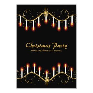 Plantilla de las invitaciones del fiesta de las invitación 12,7 x 17,8 cm
