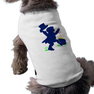 Plantilla de Leprecan Camiseta Sin Mangas Para Perro