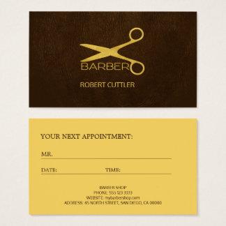 Plantilla de lujo de la cita del logotipo de la tarjeta de negocios