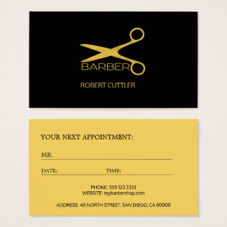 Plantilla de lujo de la cita del logotipo de la tarjeta de visita