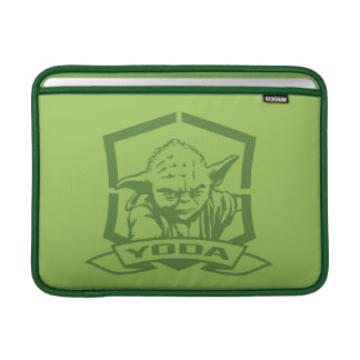 Plantilla de Yoda Fundas MacBook