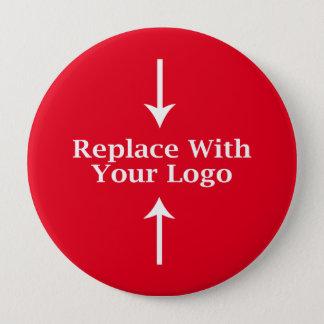 Plantilla del botón del logotipo del negocio