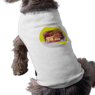 plantilla del capítulo de la foto de 9 bolas camiseta sin mangas para perro