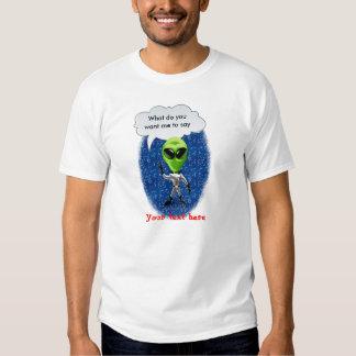 plantilla del carácter de carnivalcutouts.com camiseta