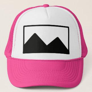 Plantilla del gorra del camionero del fiesta de