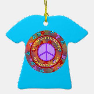 Plantilla del ornamento de la camiseta de los hipp adorno