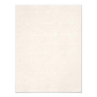 Plantilla del papel de pergamino del botánico del fotos