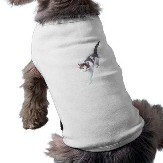 Plantilla del perro camiseta sin mangas para perro