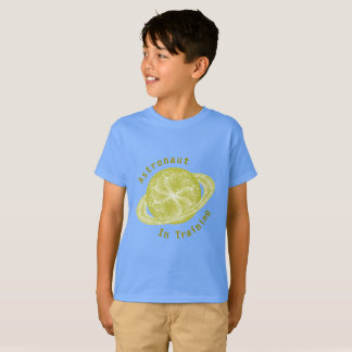 Plantilla del planeta del oro camiseta