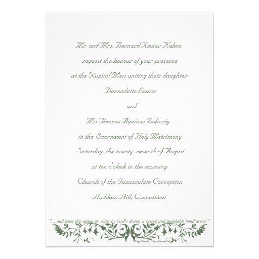 Plantilla determinada cc de la invitación del boda