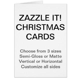 Plantilla en blanco de encargo de las tarjetas de