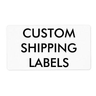 Plantilla en blanco personalizada personalizado de etiqueta de envío